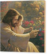 Precious In His Sight Wood Print by Greg Olsen