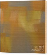 Precious Metals Abstract 2 Wood Print