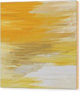 Precious Metals Abstract Wood Print