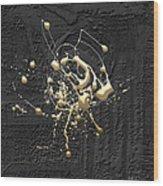 Precious Splashes - 4 Of 4 Wood Print
