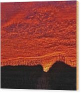 Predawn Dune Perfection 4 10/30 Wood Print