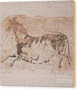 Prehistoric Horse Wood Print
