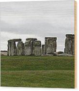 Prehistoric Monument - Stone Henge Wood Print