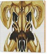 Prehistoric Ram Wood Print
