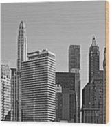 Premier Destination Chicago Wood Print
