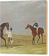 Preparing To Start For The Doncaster Gold Cup 1825 Wood Print