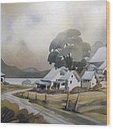 Pres Du Lac Saint-francois 22x30 Wood Print