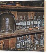 Prescription Drug Bottles Wood Print