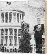 Presidential Wood Print