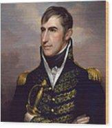 President William Henry Harrison Wood Print