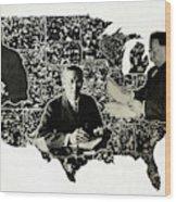 Presidential Map, C1912 Wood Print