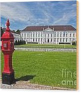 Presidential Palace Berlin Germany Wood Print