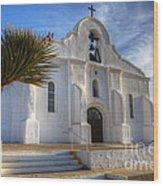Presidio Chapel San Elizario Texas Wood Print