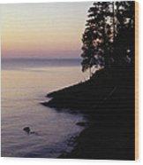 Presque Isle In Pastels Wood Print