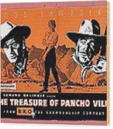 Pressbook The Treasure Of Pancho Villa 1955 Wood Print