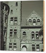 Preston Castle Tower Wood Print