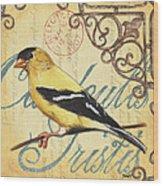 Pretty Bird 3 Wood Print