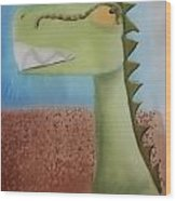 Dinoart Raptor Wood Print