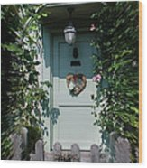 Pretty Door In Nether Wallop Wood Print