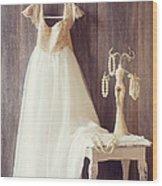 Pretty Dress Wood Print