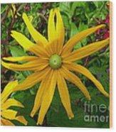 Pretty In Yellow Wood Print