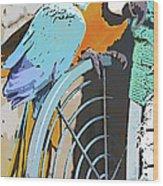 Pretty Polly Wood Print