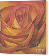 Pretty Rose Wood Print