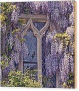 Pretty Window Wood Print