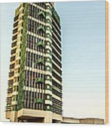 Price Tower Wood Print