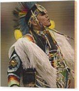 Pow Wow Native Pride 2 Wood Print