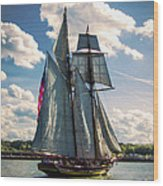 Pride Of  Baltimore 1 Wood Print