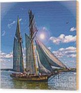Pride Of Baltimore 3 Wood Print