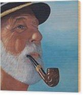 Pride Of Sea Captain Wood Print