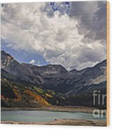Priest Lake Colorado Wood Print