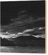 Priest Lake Splendor Wood Print