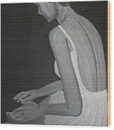Prima Ballerina Wood Print