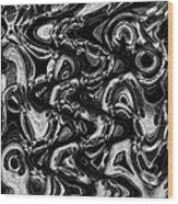 Primal Flux Wood Print