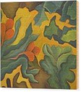 Primal Spring Wood Print