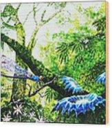 Primeval Forest Wood Print