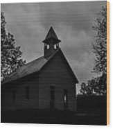 Primitive Church Wood Print