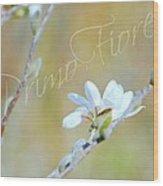 Primo Fiore Wood Print
