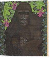 Primordial Spirit Of Motherhood Wood Print