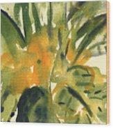 Primroses Wood Print