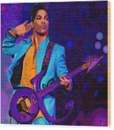 Prince 3 Wood Print