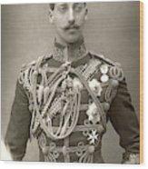 Prince Albert Victor Wood Print