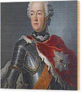 Prince Augustus William Oil On Canvas Wood Print