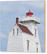 Prince Edward Island Lighthouse Wood Print