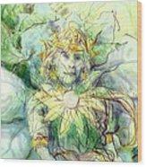 Prince Of Flowers Wood Print