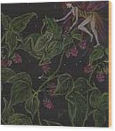 Prince Of The Berry Bushes Wood Print