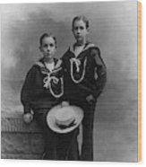 Princes Amedeo And Aimone Wood Print